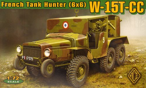 W15T CC 6x6 French Tank Hunter