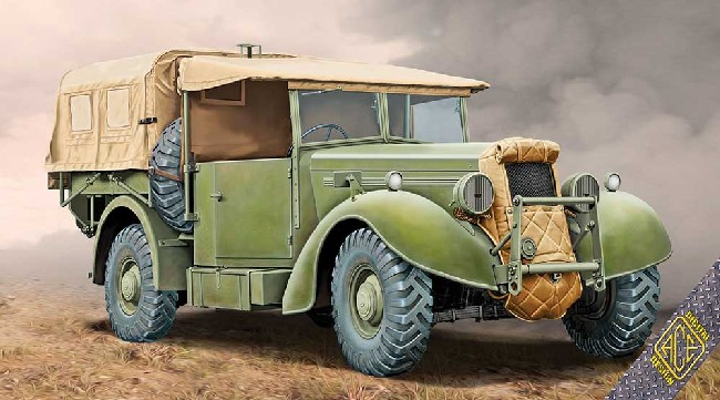 Super Snipe Lorry 8cwt (FFW) Military Truck