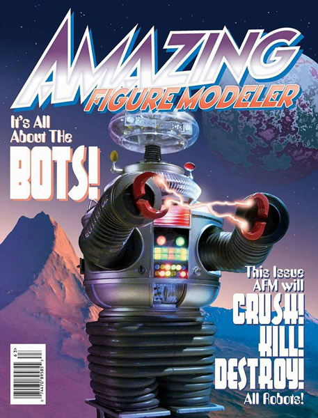 Amazing Figure Modeler no. 63 - Its All About The Bots