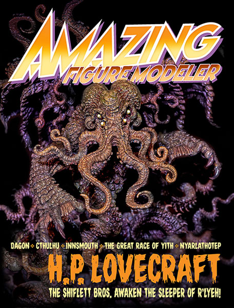 Amazing Figure Modeler no. 68 - H.P. Lovecraft