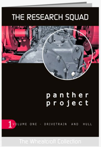 The Research Squad: Panther Project Vol.1 Drivetrain & Hull