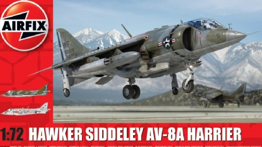 Hawker Siddeley Harrier AV8A Combat Aircraft