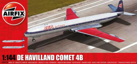 DeHavilland Comet 4B Commercial Jet Airliner