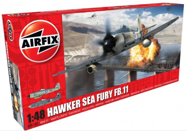 Hawker Sea Fury FB II Fighter