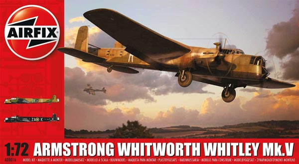 Armstrong Whitworth Whitley Mk V RAF Medium Bomber
