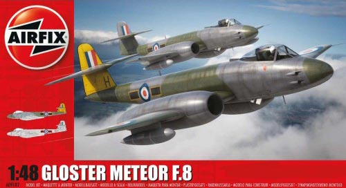 Gloster Meteor F8 British Jet Fighter