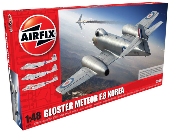 Gloster Meteor F8 Korean War Fighter