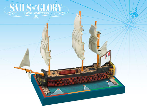 Sails of Glory - French: 118-guns Ocean Class Ships-of-the-Line -