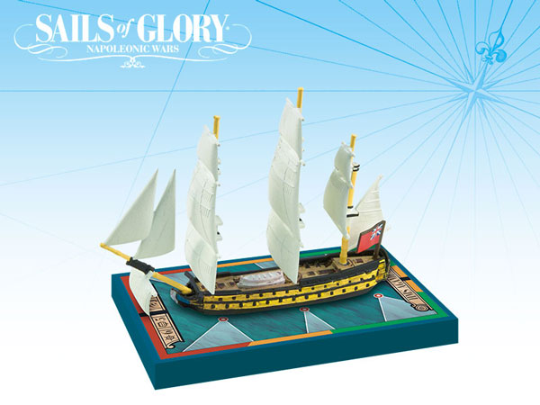 Sails of Glory - British: 64-guns Third Rate Ships-of-the-Line - HMS Agamemnon 1781/ HMS Raisonnable 1768