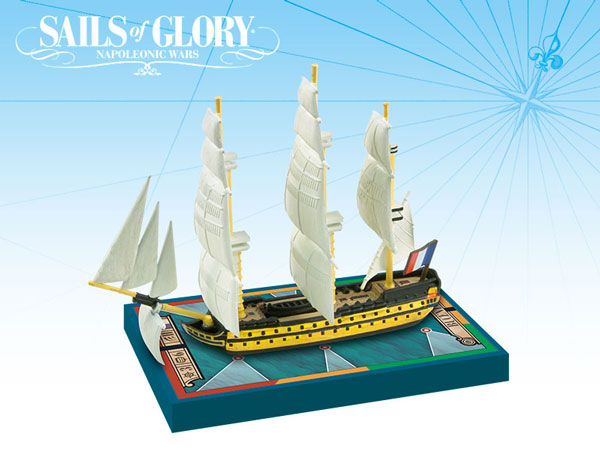 Sails of Glory - French: 80-guns Bucentaure / Tonnant Class Ships-of-the-Line - Bucentaure 1803/ Robuste 1806