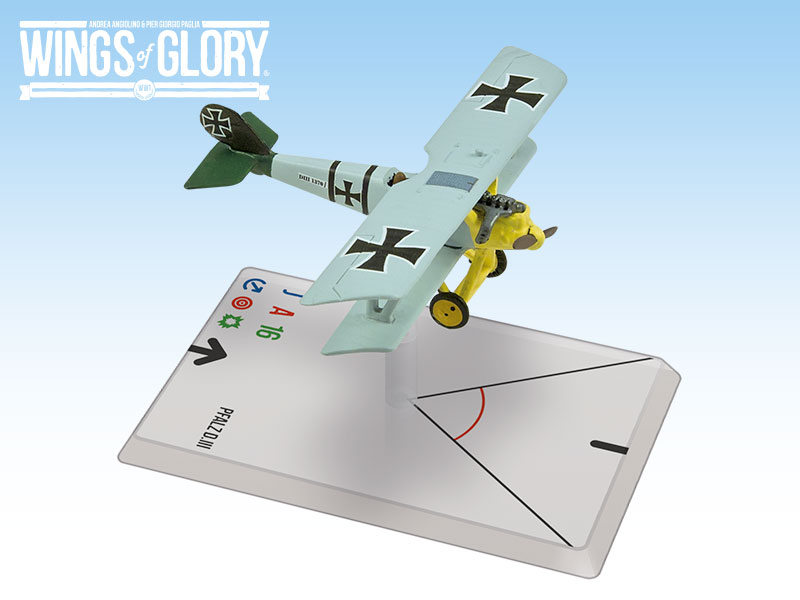 Wings Of Glory WWI Miniatures: Pfalz D.III (Voss)
