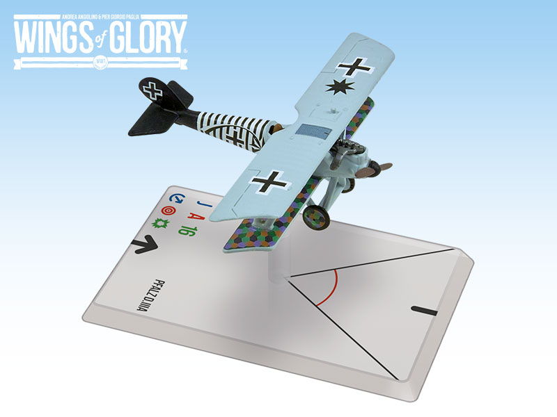 Wings Of Glory WWI Miniatures: Pfalz D.III (Holtzem)