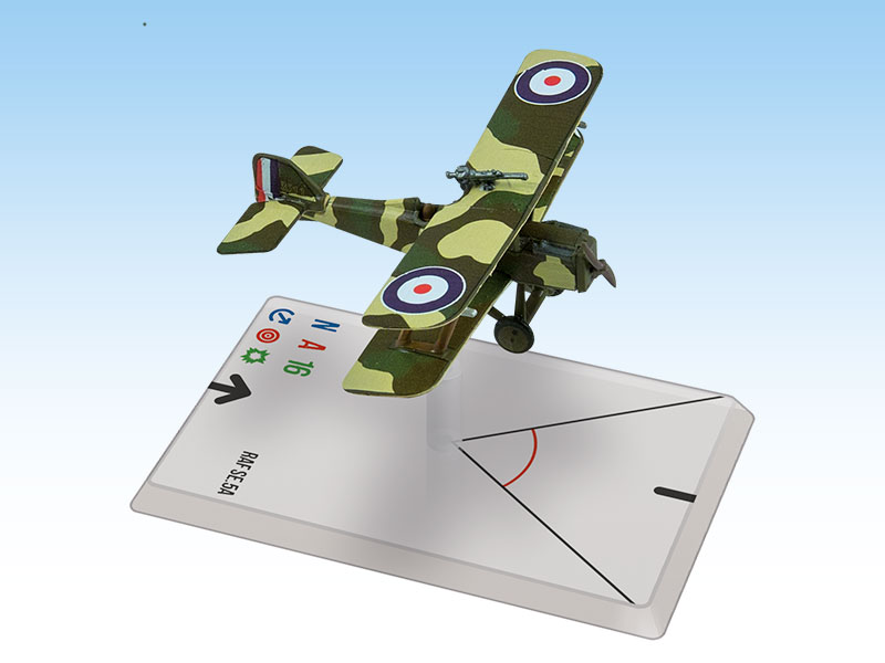 Wings Of Glory WWI Miniatures: RAF SE.5a (Dallas)