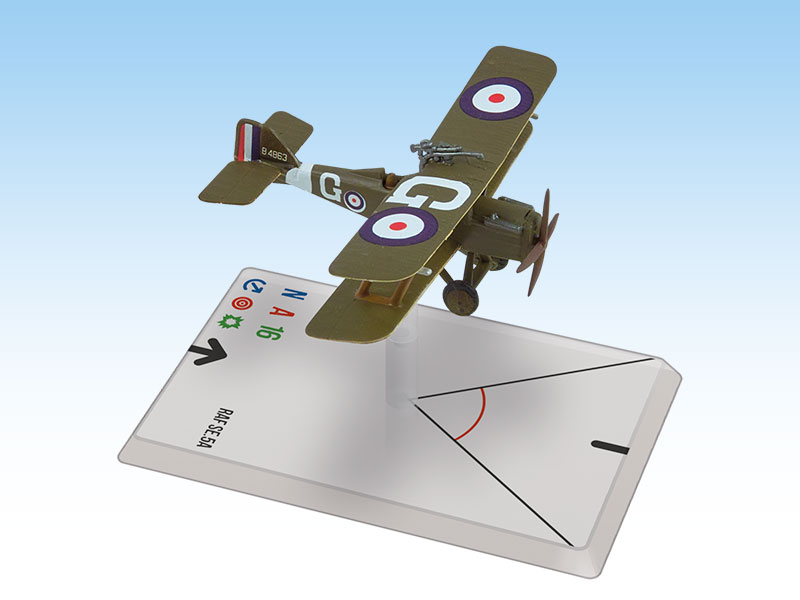 Wings Of Glory WWI Miniatures: RAF Se.5a (McLudden)