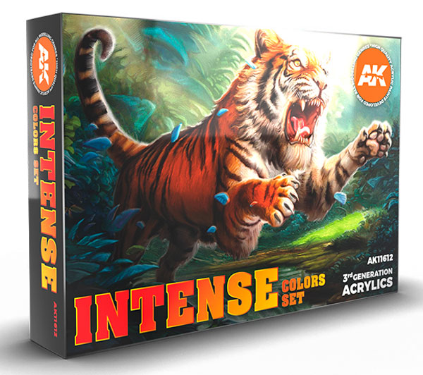 Intense Colors 3rd Generation Acrylic Paint Set