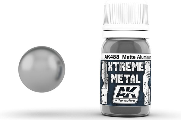 Xtreme Metal Matte Aluminium 30ml Bottle