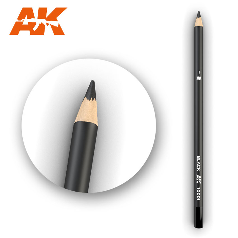 Weathering Pencils: Black