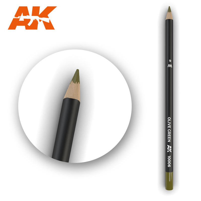 Weathering Pencils: Olive Green
