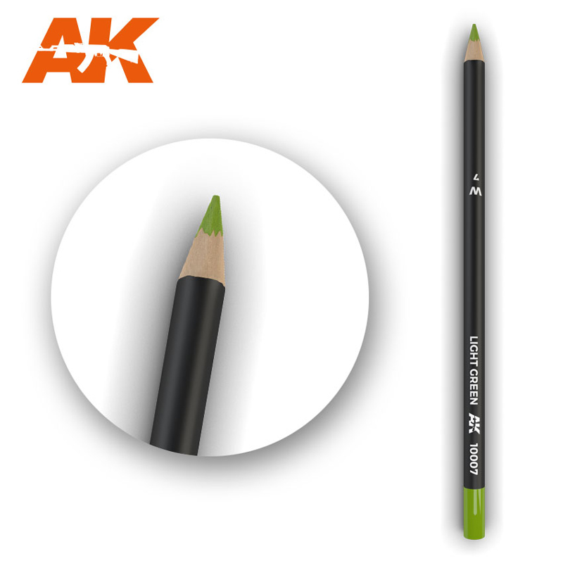 Weathering Pencils: Light Green