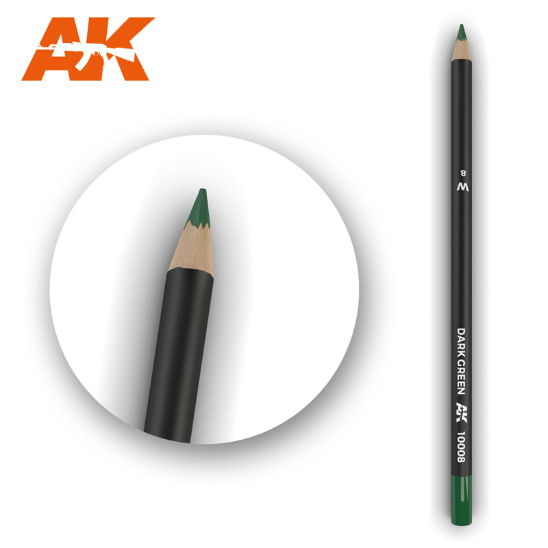 Weathering Pencils: Dark Green
