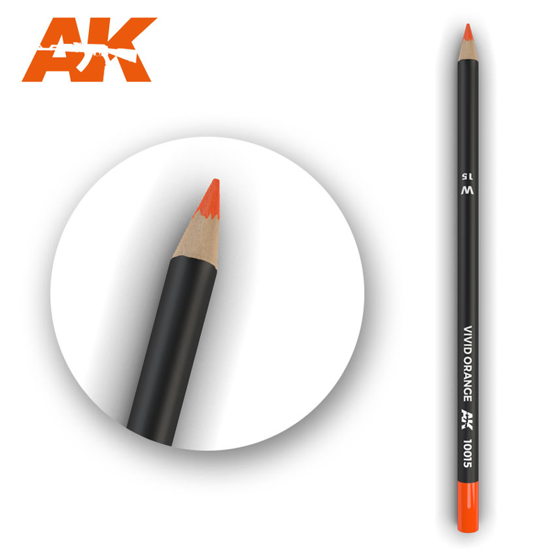 Weathering Pencils: Vivid Orange
