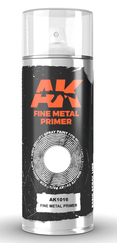 Fine Metal Lacquer Primer 150ml Spray