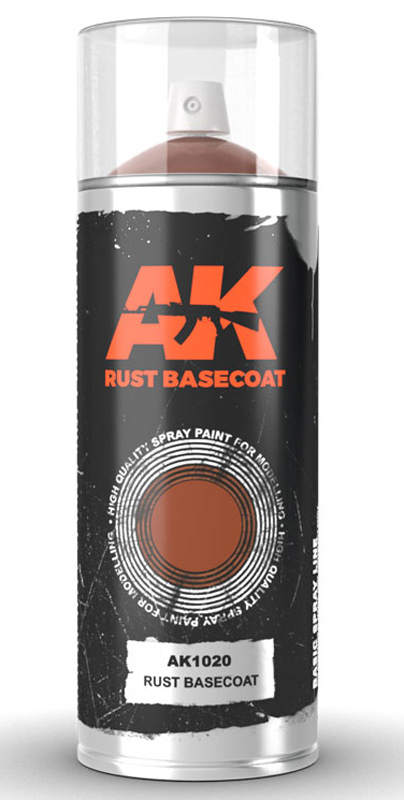 Rust Laquer Basecoat 150ml Spray