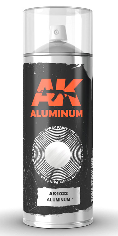 Aluminum Lacquer Paint 150ml Spray