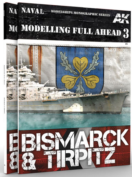Modeling Full Ahead Volume 3: Bismarck and Tirpitz