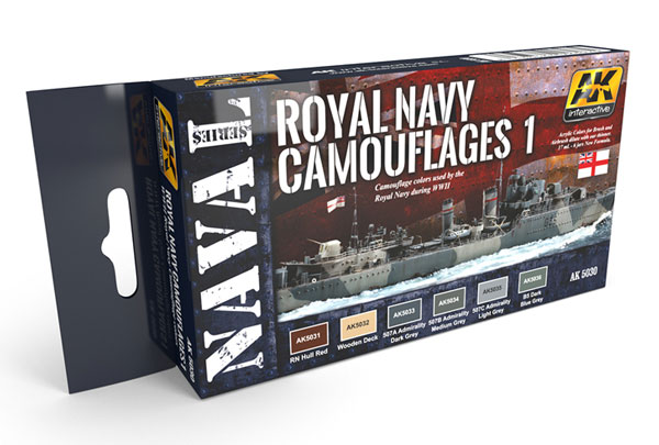 Naval Series: Royal Navy Camouflages Set 1