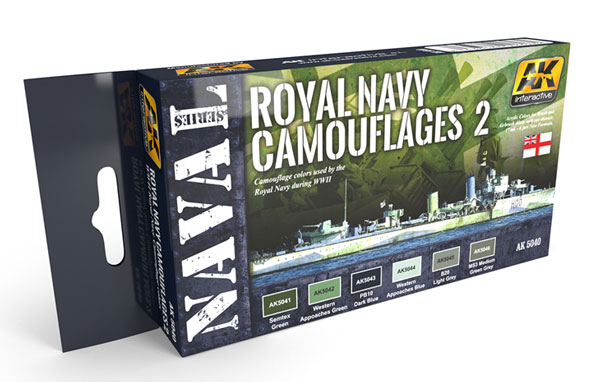 Naval Series: Royal Navy Camouflages 2 Set