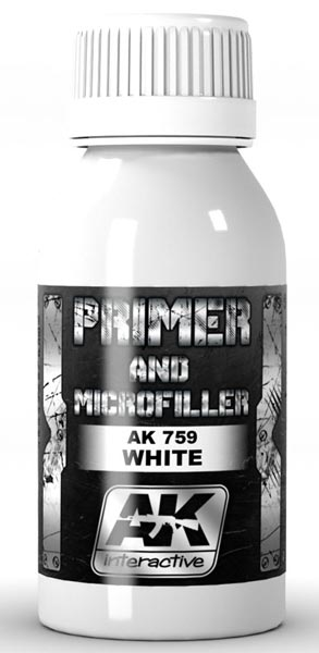 Xtreme Metal White Primer and Microfiller 100ml