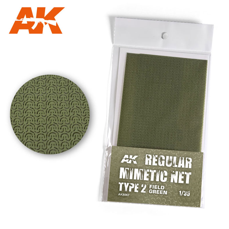 Mimetic Net Type 2 - Field Green
