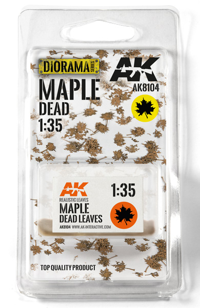 Diorama Series: Maple Dead Leaves