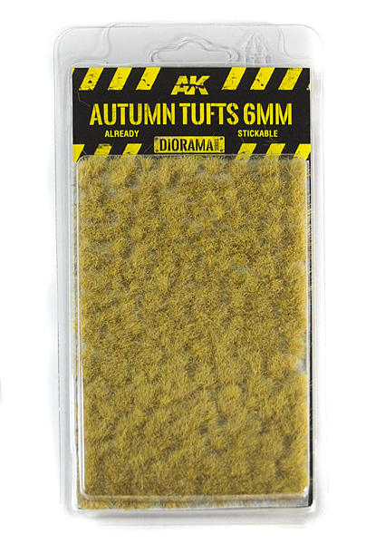 Diorama Series: Autumn Tufts 6mm (Self Adhesive)