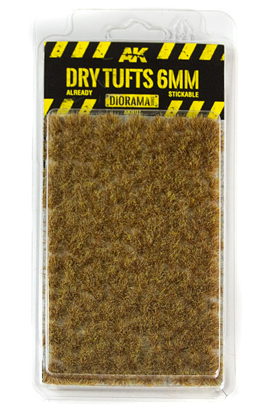 Diorama Series: Dry Tufts 6mm (Self Adhesive)