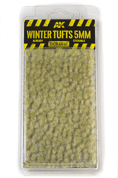 Diorama Series: Winter Tufts 5mm (Self Adhesive)