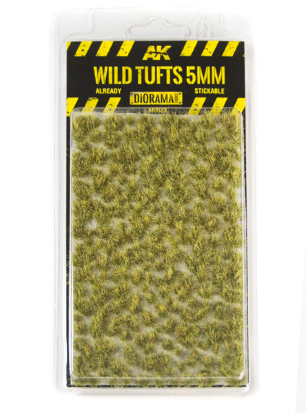 Diorama Series: Wild Tufts 5mm (Self Adhesive)