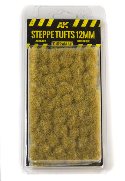 Diorama Series: Steppe Tufts 12mm (Self Adhesive)