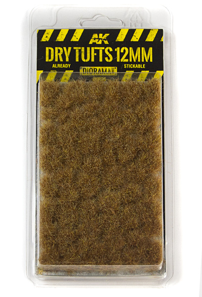 Diorama Series: Dry Tufts 12mm (Self Adhesive)