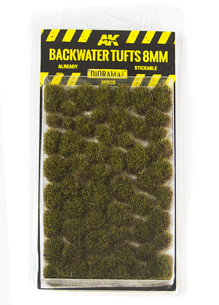 Diorama Series: Backwater Tufts 8mm (Self Adhesive)