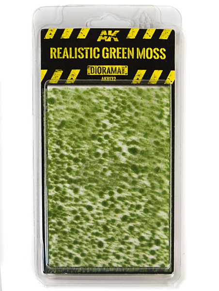 Diorama Series: Realistic Green Moss