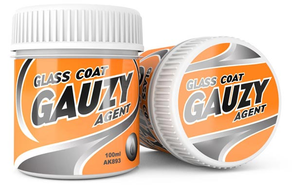 Gauzy Agent Glass Coat 100ml Bottle