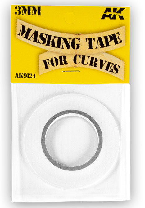 Masking Tape for Curves - 3mm