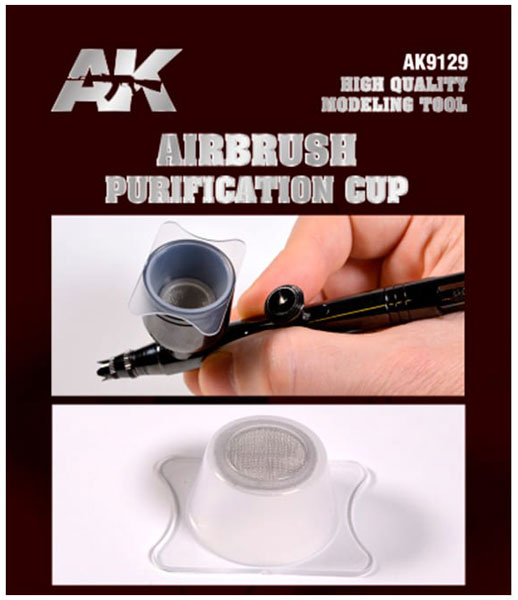 Purification Cups for Airbrush