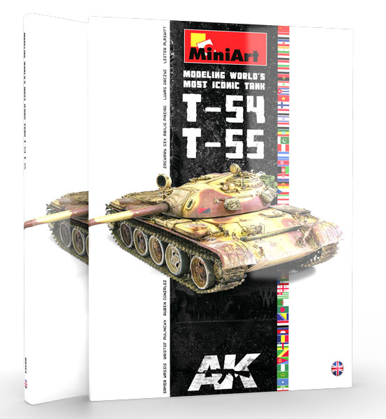 T54/T55 Modeling Worlds Most Iconic Tank Book
