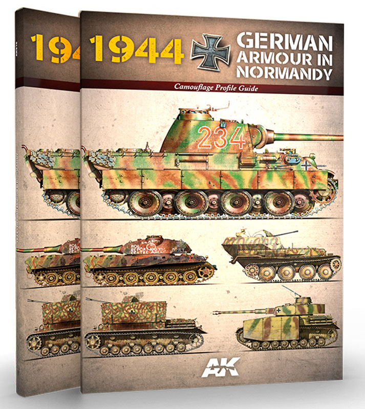 1944 German Armor in Normandy - Camouflage Profile Guide