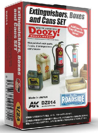 Doozy Series: Fire Extinguishers, Crates & Can Set (7) ONLY 1 AVAILABLE