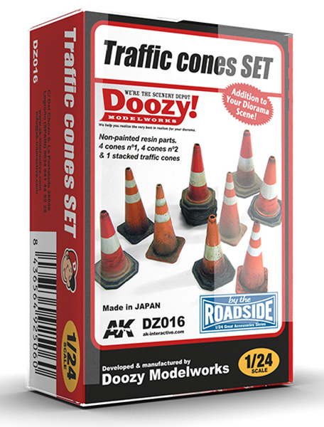 Doozy Series: Traffic Cones Set ONLY 1 AVAILABLE