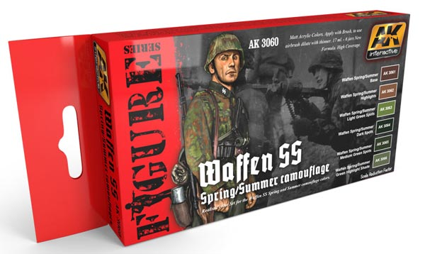 Figure Series: Waffen SS Fall/Summer Camouflage